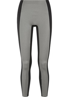 Reebok Two-tone Metallic Stretch Leggings