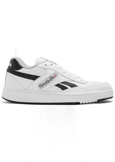 Reebok White & Black BB 4000 Sneakers