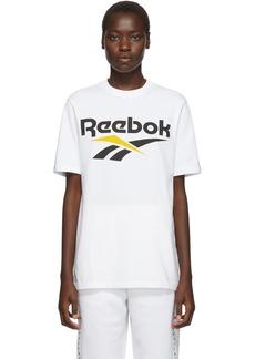Reebok White & Black Vector T-Shirt
