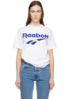 Reebok White CL V T-Shirt