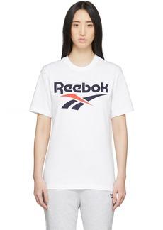 Reebok White Classics Vector T-Shirt