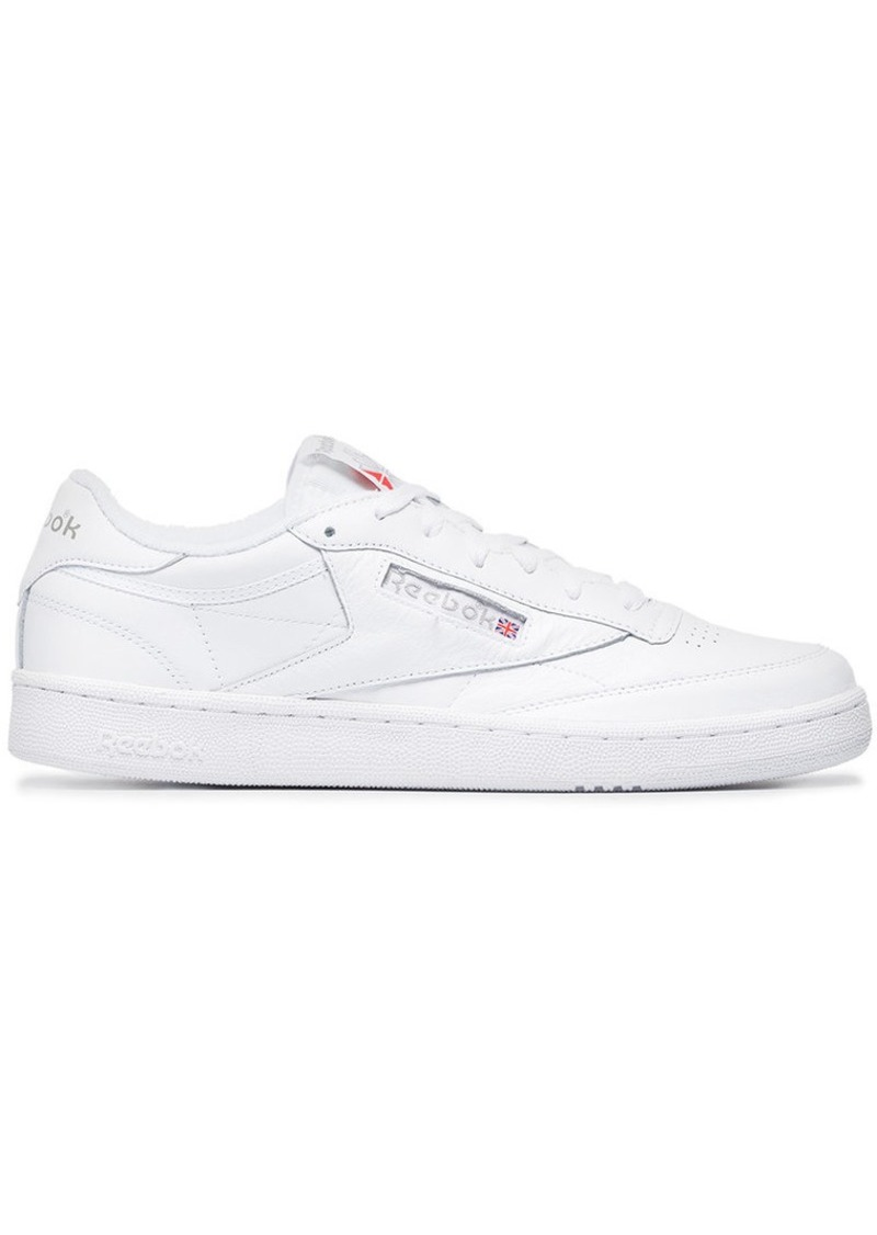 179870de4a120 Reebok White Club C 85 Archive Leather Sneakers