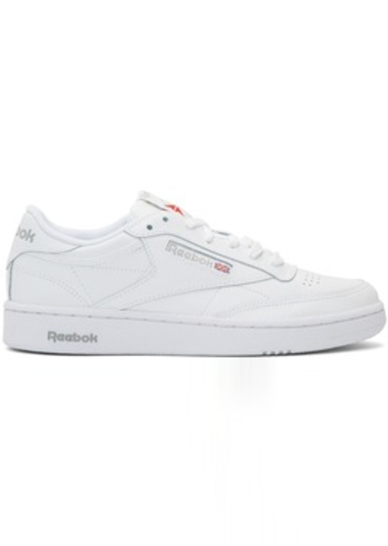 Reebok White Club C 85 Sneakers
