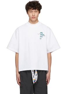 Reebok White Collection 3 Graphic T-Shirt