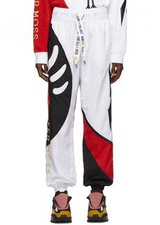 Reebok White Collection 3 Sankofa Track Pants