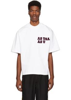 Reebok White Logo T-Shirt