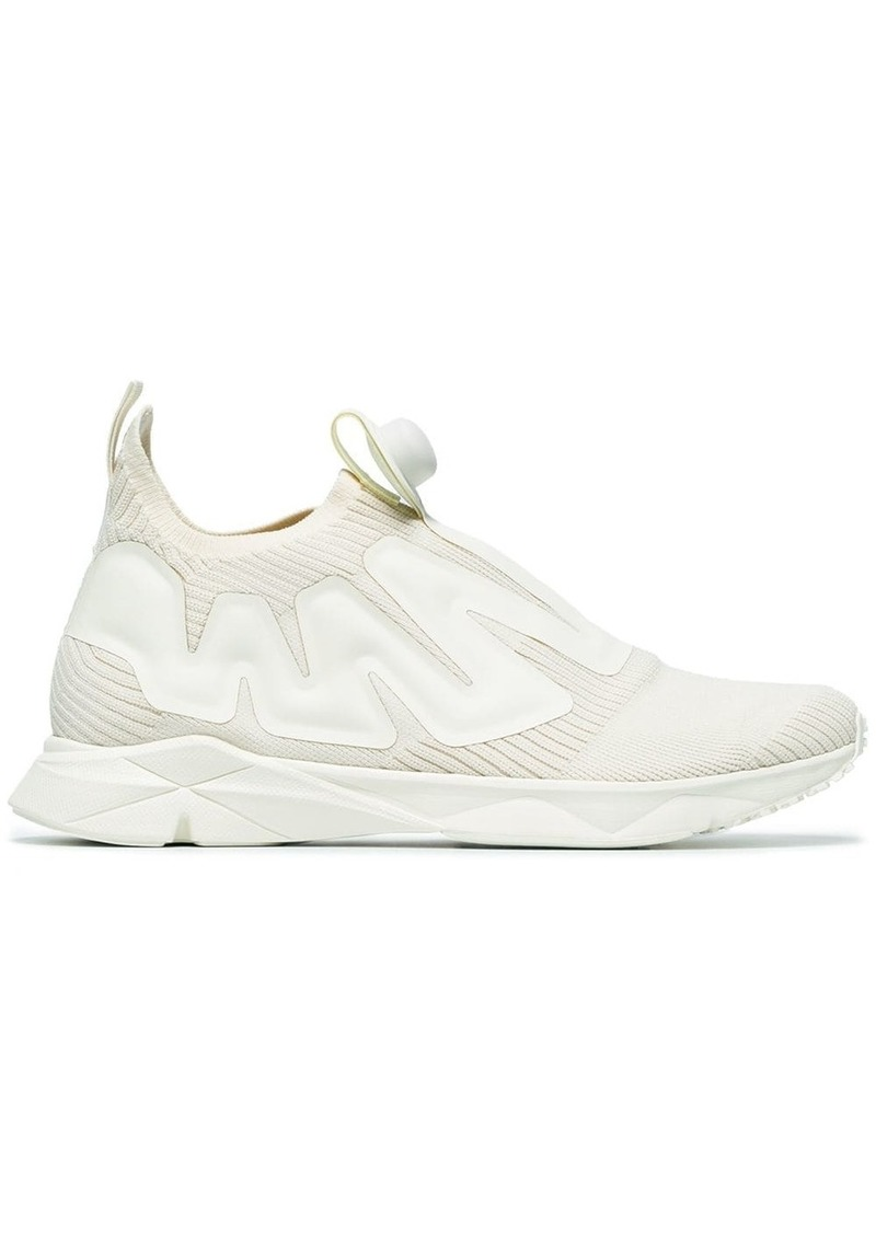 Reebok White Pump Supreme Sneakers