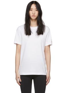 Reebok White Unisex T-Shirt