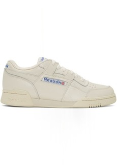 Reebok White Workout Plus 1987 TV Sneakers