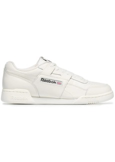 Reebok white workout plus MU leather sneakers