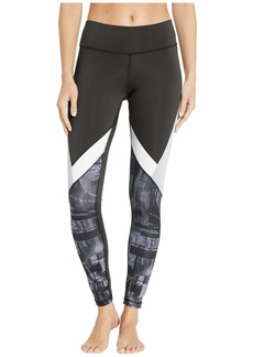 Reebok Work Out Ready Meet You There Panel Poly Tights