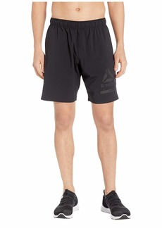 Reebok Workout Ready Graphic Woven Shorts