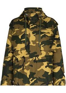 Reebok camouflage-print military jacket