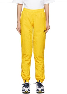 Reebok Yellow Vector Track Pants