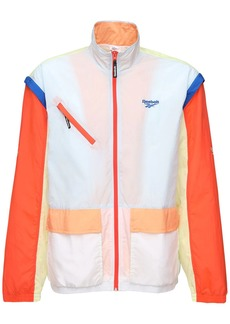 Reebok Zip Off Nylon Track Jacket