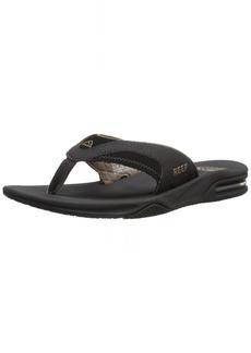 Reef Fanning Mens Sandals  Bottle Opener Flip Flops For MenBLACK/BROWN