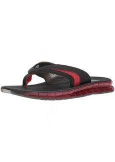 Reef Men's BOSTER Sandal Black/red  M US