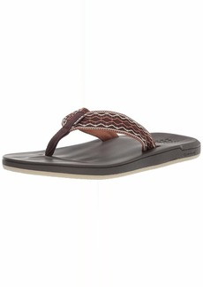 Reef Men's Cushion Smoothy Sandal brown 00 Medium US