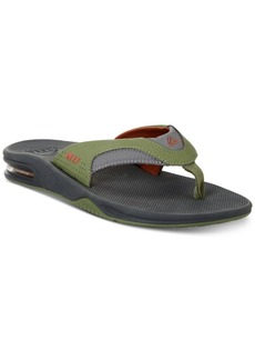 Reef Men's Fanning Thong Sandals with Bottle Opener Men's Shoes