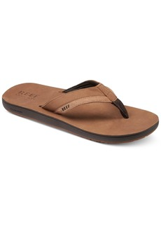 Reef Men's Leather Contour Cushion Sandals Men's Shoes