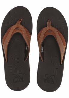 Reef Men's Leather Fanning Sandal  9 Medium US