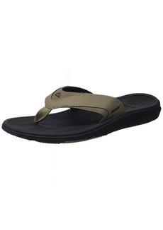Reef Men's Modern Flip Flop Black tan