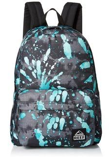 Reef Men's Moving on Backpack Black Splatter