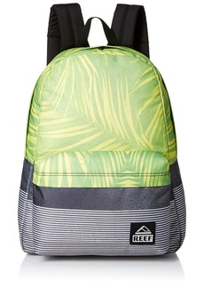 Reef Men's Moving On Backpack Black/Green