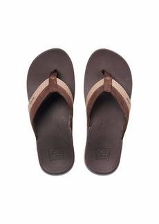 REEF mens Reef Otho-Spring TX Sandal BROWN  M US