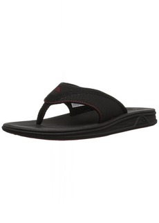 Reef Men's Rover Mesh Flip Flop Black/red