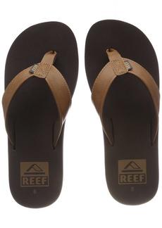 Reef Men's Sandal Twinpin | Comfortable Men's Flip Flop With Vegan Leather Upper  12