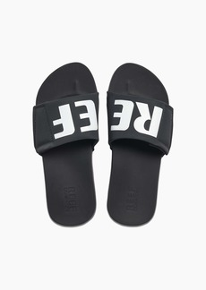 Reef Men's Sandals Cushion Bounce Slides |Classic Beach Slide for Men