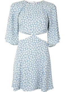 Reformation all-over floral print dress