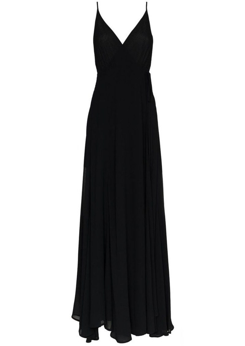Reformation callalilly v neck maxi dress