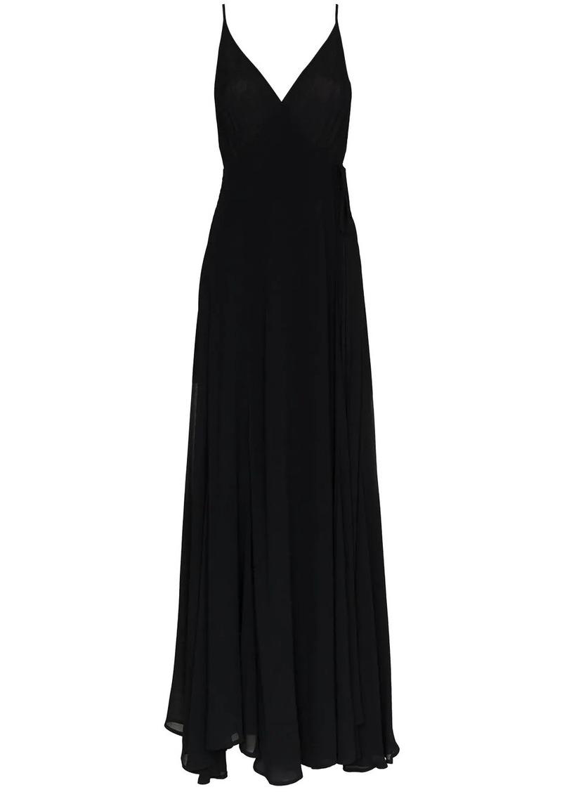 Reformation callalilly v neck maxi dress