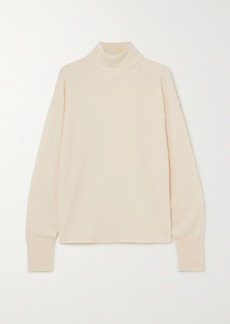 Reformation Cashmere And Wool-blend Turtleneck Sweater