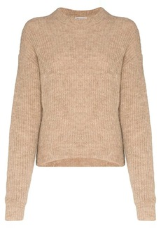 Reformation Finn high-neck knitted jumper