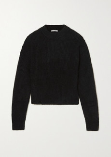 Reformation Finn Ribbed Alpaca-blend Sweater