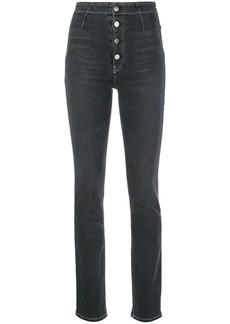 Reformation high waist skinny-fit jeans