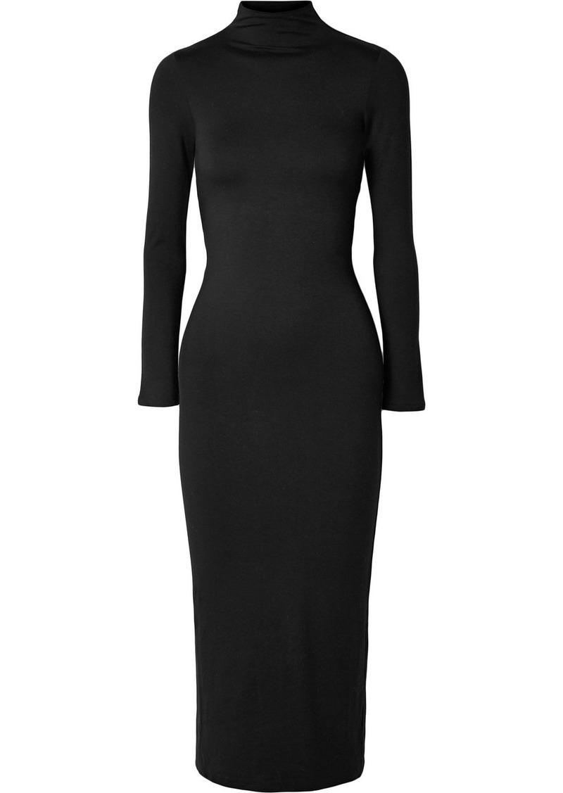 Reformation Jameson Open-back Stretch-tencel Jersey Midi Dress
