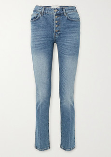 Reformation Liza High-rise Straight-leg Jeans