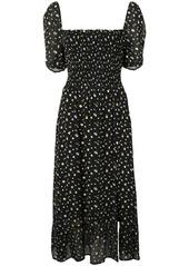 Reformation Meadow floral-print midi-dress
