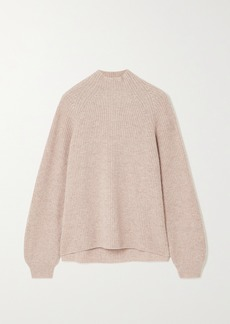 Reformation Net Sustain Georges Ribbed Recycled Cashmere-blend Turtleneck Sweater