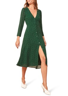 Reformation Alma Midi Dress