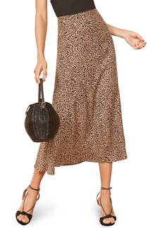 Reformation Bea Midi Skirt (Regular & Plus Size)