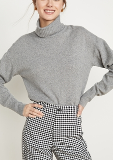 Reformation Cashmere Boyfriend Turtleneck Sweater