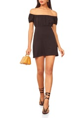Reformation Echo Stretch Tencel® Lyocell Minidress