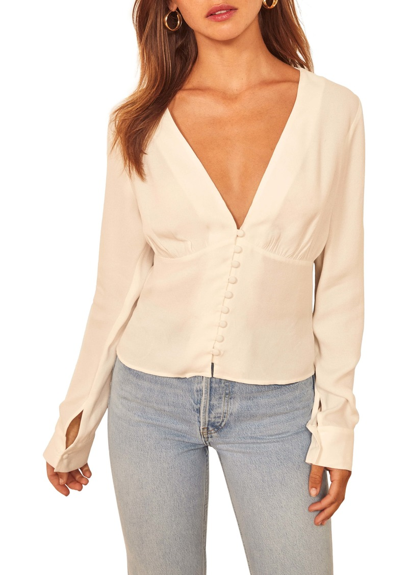 Reformation Fulham Top