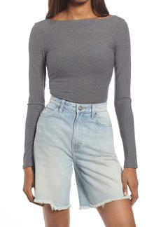 Reformation Galina Long Sleeve Bodysuit