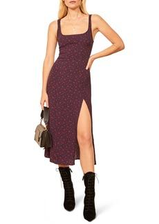 Reformation Gilmore Sleeveless Midi Dress